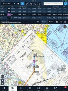 ForeFlight ILS Approach Canada