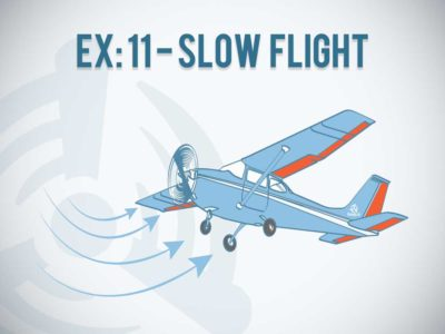 EX 11 Slow Flight Canadian Student Pilot