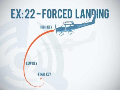 EX 22 Forced Landing Canadian Student Pilot