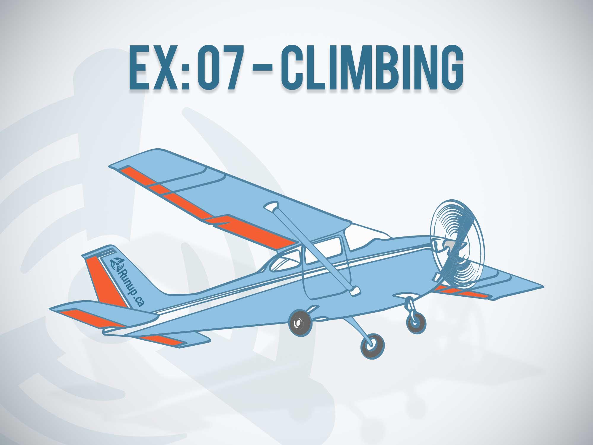 Canada Student Pilot - Exercise 5 Climbing