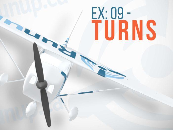 Flight Exercise 9 Turns