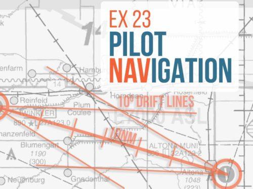 Exercise 23 Pilot Navigation Student Pilot PGI