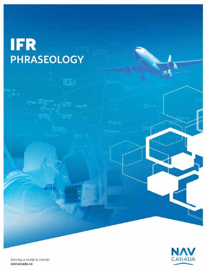 IFR Phraseology Canada Pilot