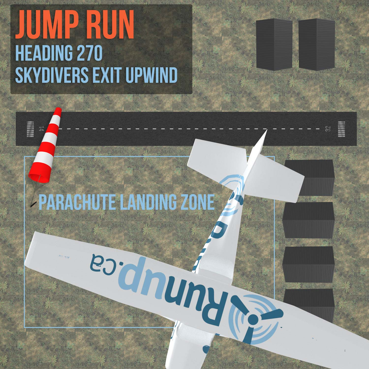 How to become a skydive jump pilot