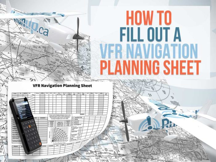 How to complete a VFR navigation log thumb