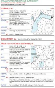 Orillia Water Flight Supplement