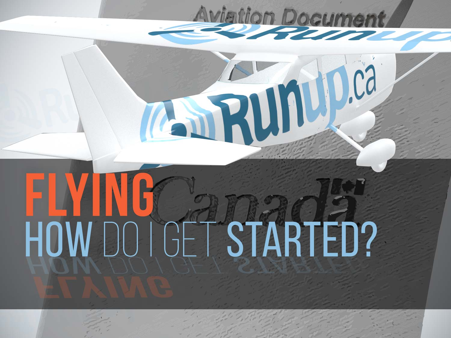 How do I get started flying in Canada