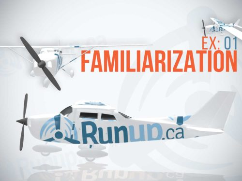 Learning to Fly Familiarization Flight
