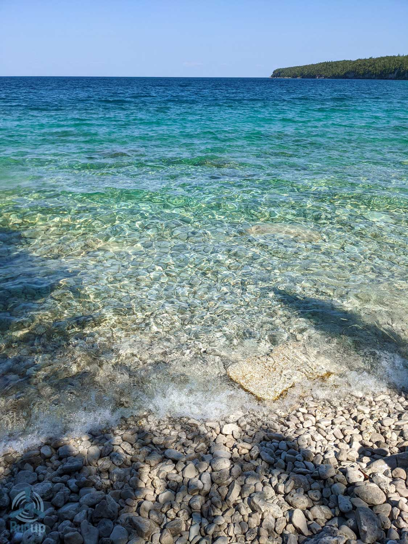 Flight to Tobormory Blue Water