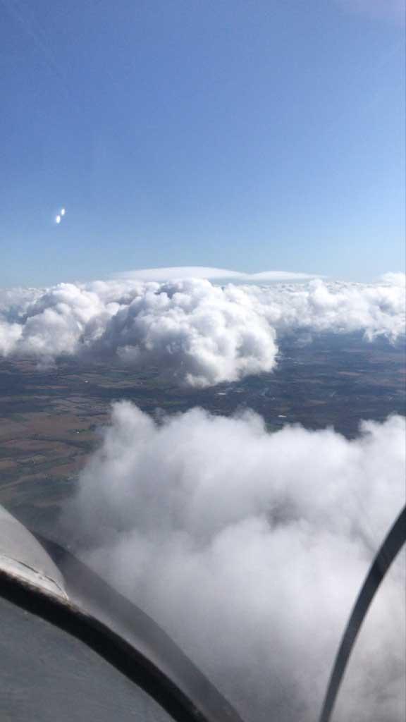 Student Pilot Multi Engine Clouds