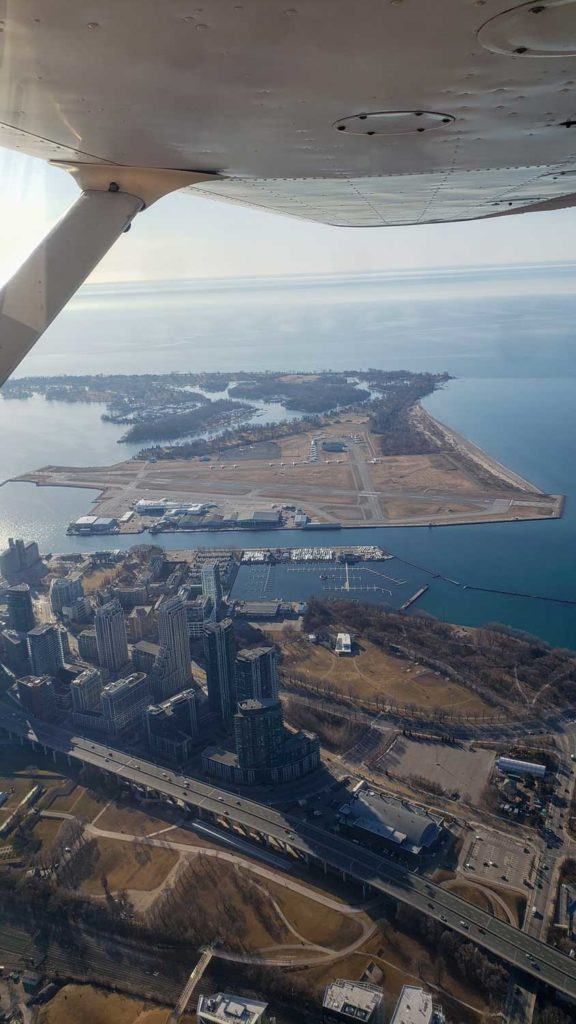Where to fly when time buiding Billy Bishop CYTZ