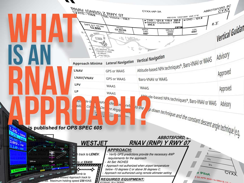 What is an RNAV Approach Thumb